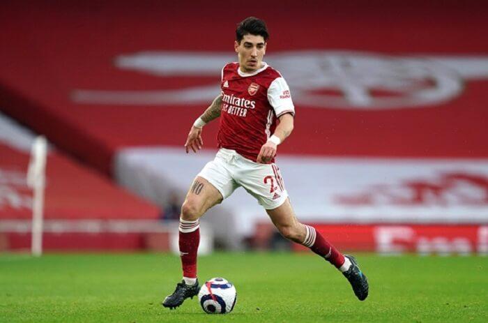Hector Bellerin được đánh giá là có phong độ thi đấu ổn định nhất trong đội hình Arsenal 2017