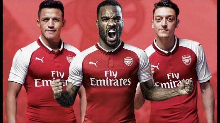 """Đội hình Arsenal 2017 - mùa giải đầy biến động của """"Pháo Thủ"""""""